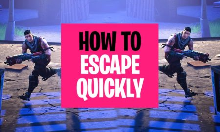 Fortnite Battle Royale How to Escape Quickly