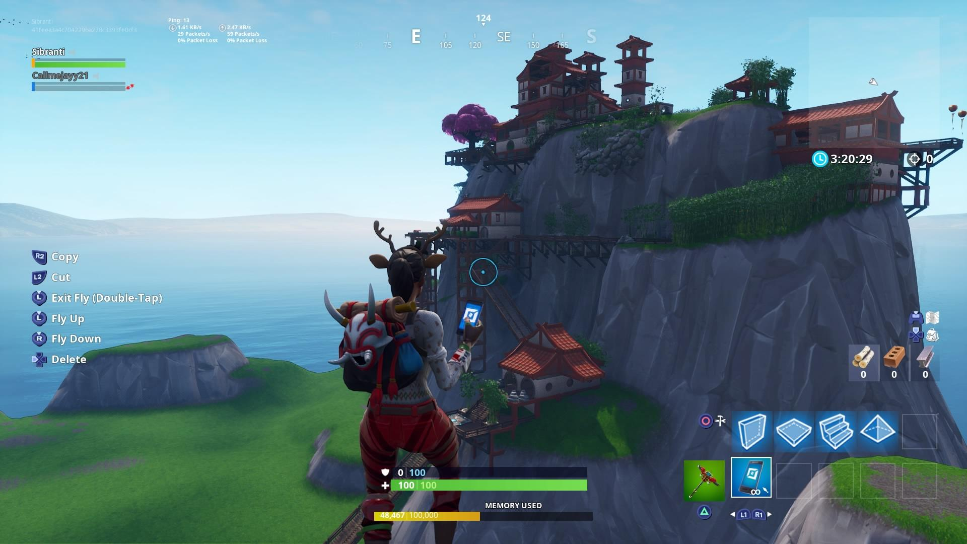 Fortnite Mountains Screenshot