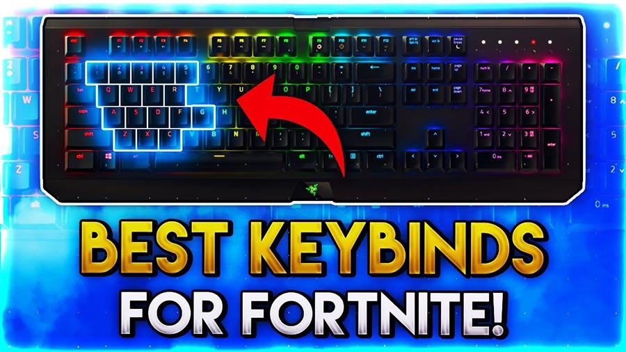 Fortnite Perfect Building Hotkey Settings