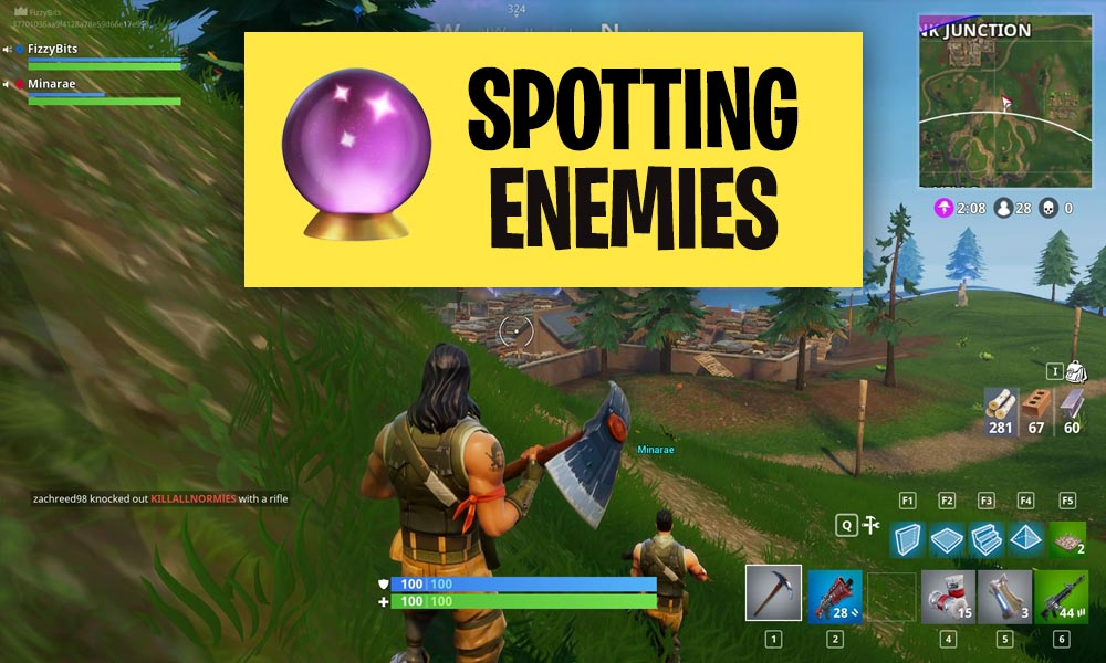 Fortnite Scouting Guide and how to spot enemies fast