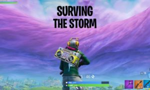 Fortnite Storm Damage Table & Guide How to survive long
