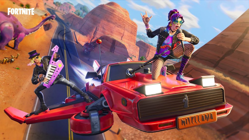 Fortnite Hot Ride Wallpaper