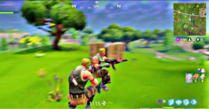 Fortnite Jump and Crouch Shooting