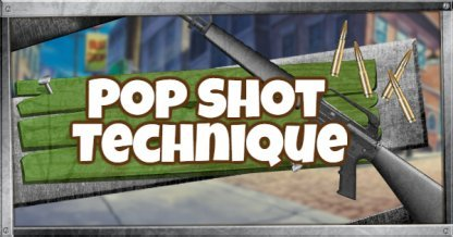 Fortnite Pop Shot Technique guide