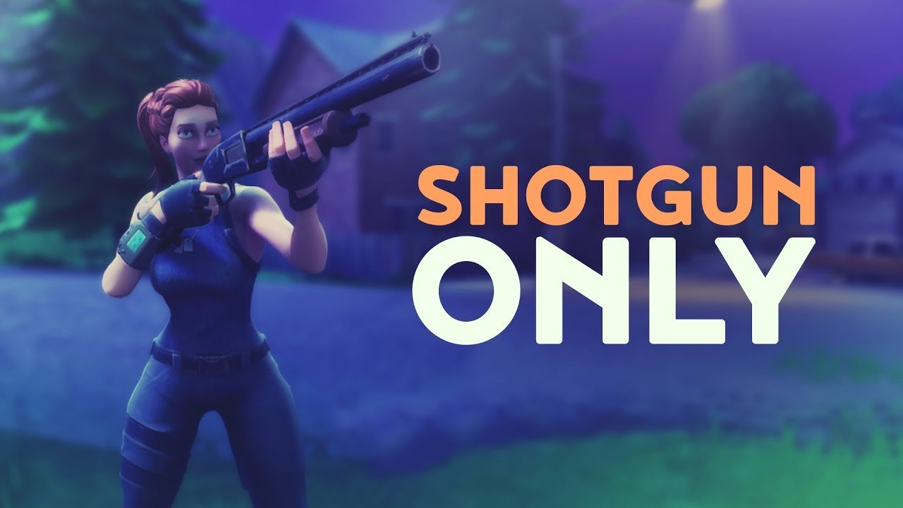 Shotgun for close range fights
