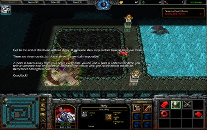 Warcraft 3 Run Kitty Run Screenshot