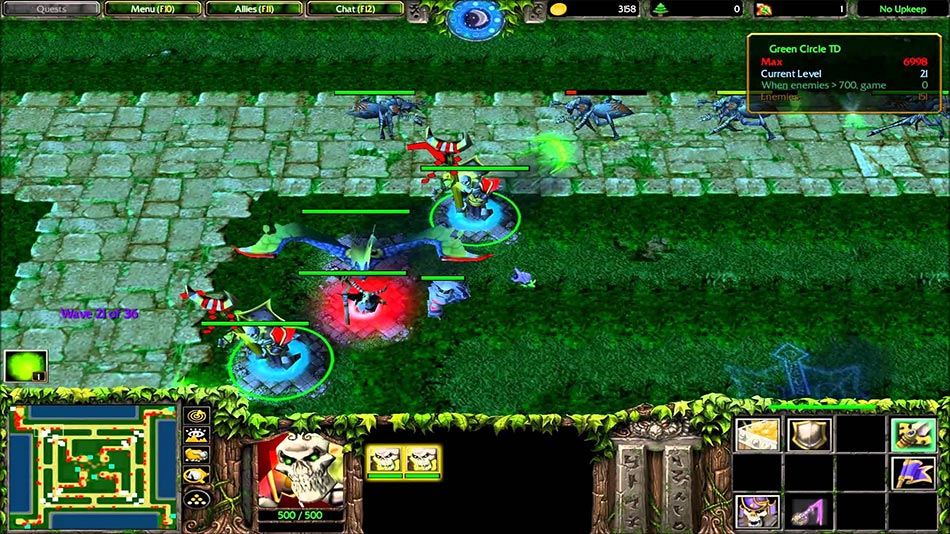 Warcraft 3 Green Circle TD
