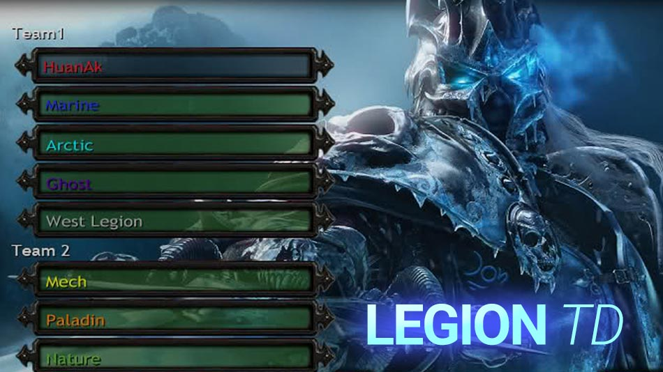 Legion Td For Warcraft 3 Free Map Download Tower Defense