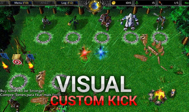 Warcraft 3 Visual Custom Kick
