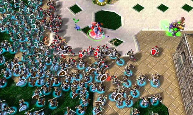 Warcraft 3 Footman Frenzy