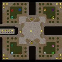 Footmen Frenzy Map Preview