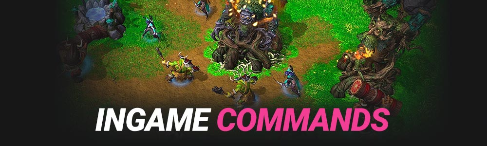Warcraft 3 Reforged Ingame Commands