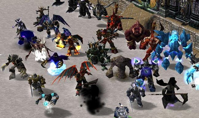 Warcraft 3 Angel Arena