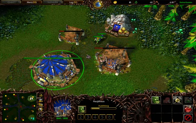 Warcraft 3 Demon UI Dota Mod