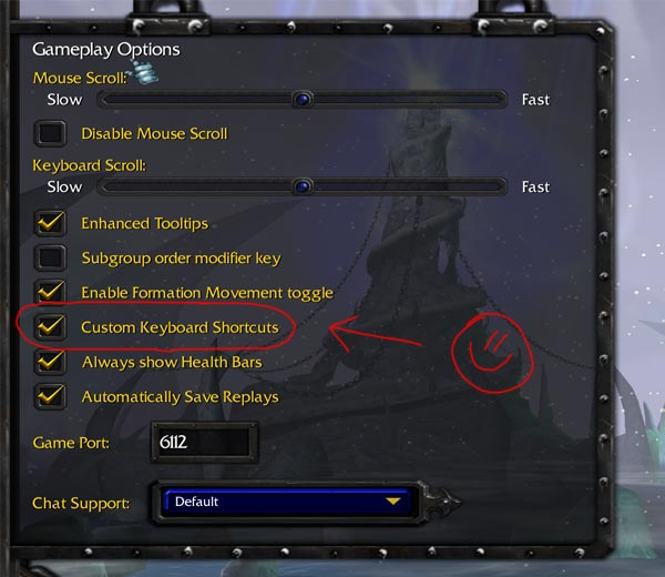 Customkeys.txt Warcraft 3 Settings