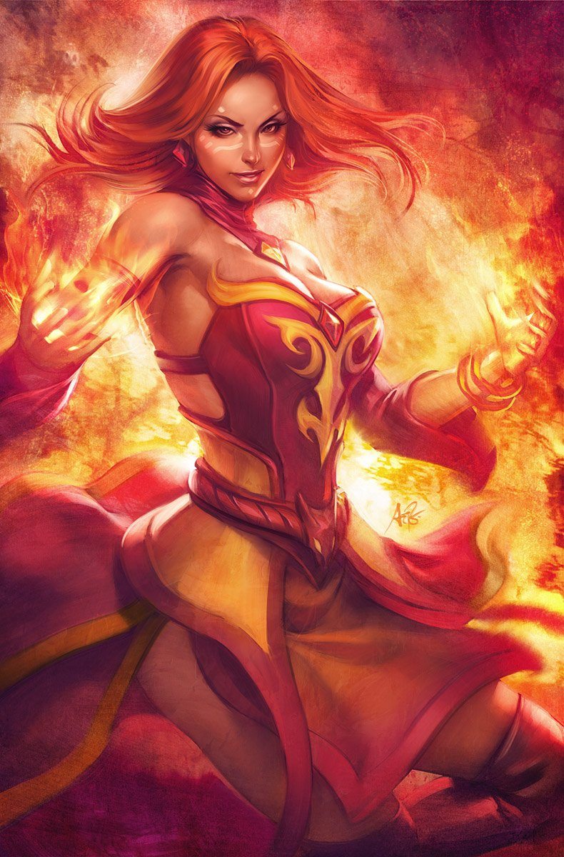 lina-is-on-fire-defense-of-the-ancients