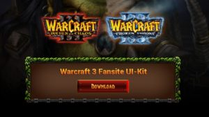 Warcraft 3 Fansite Kit