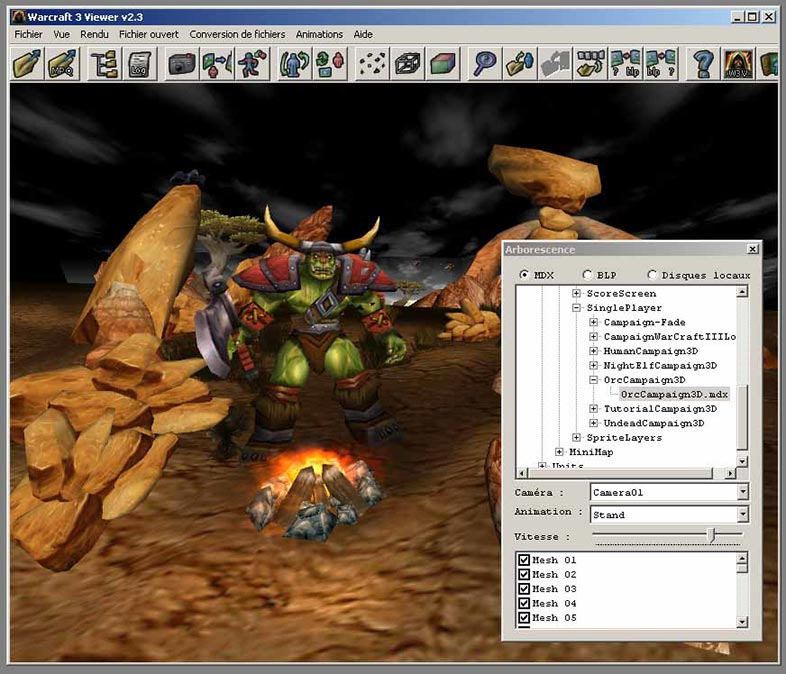 Warcraft 3 Viewer Screenshot