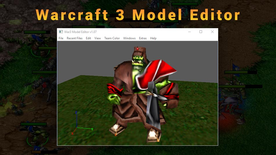 Warcraft 3 Model Editor Official Download