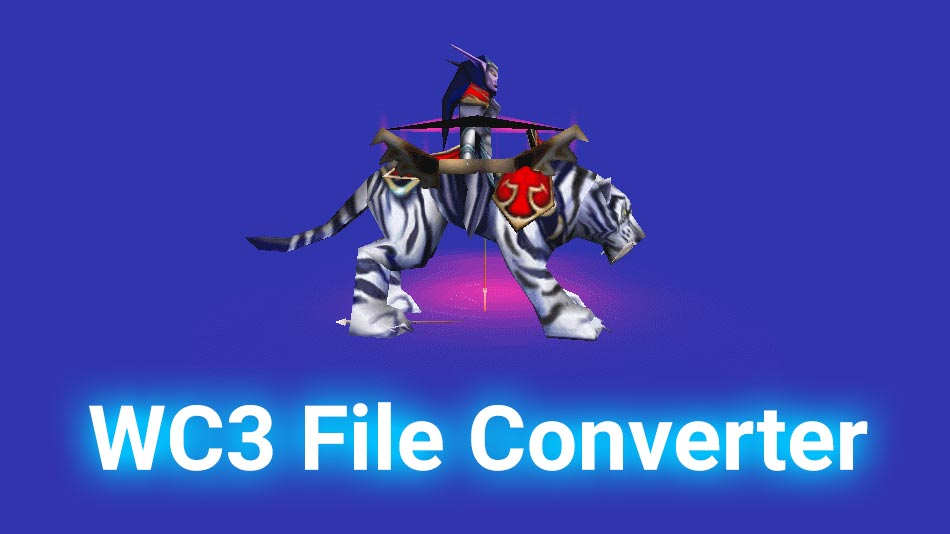 Warcraft 3 File Converter