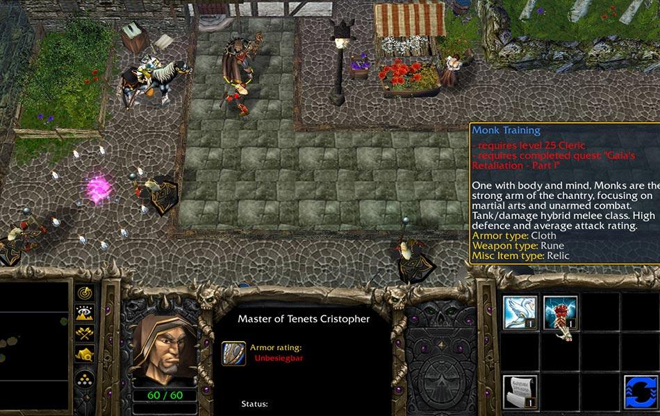 Warcraft 3 Gaias Retaliation ORPG Classes
