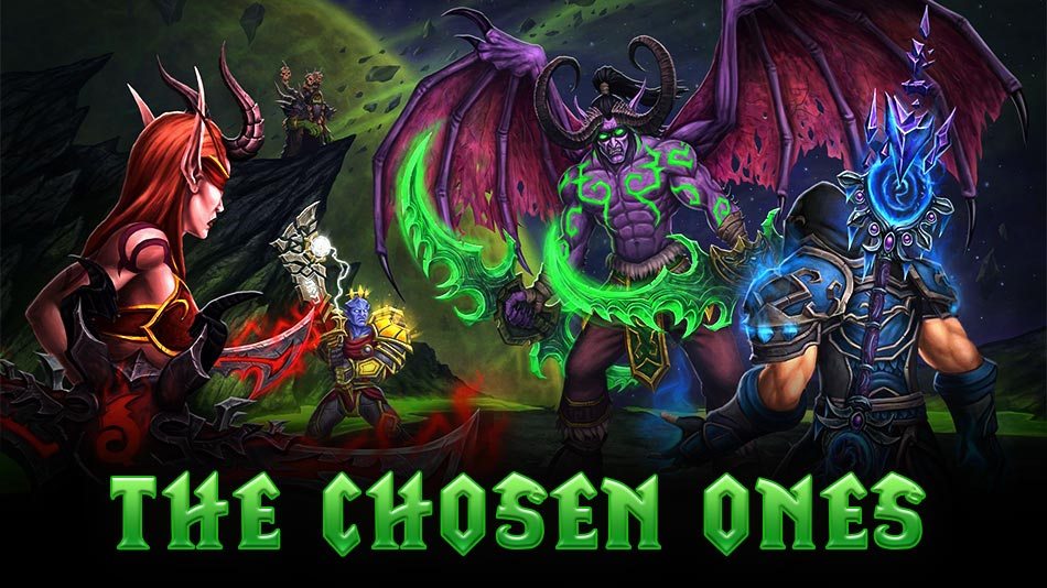 warcraft 3 the chosen ones