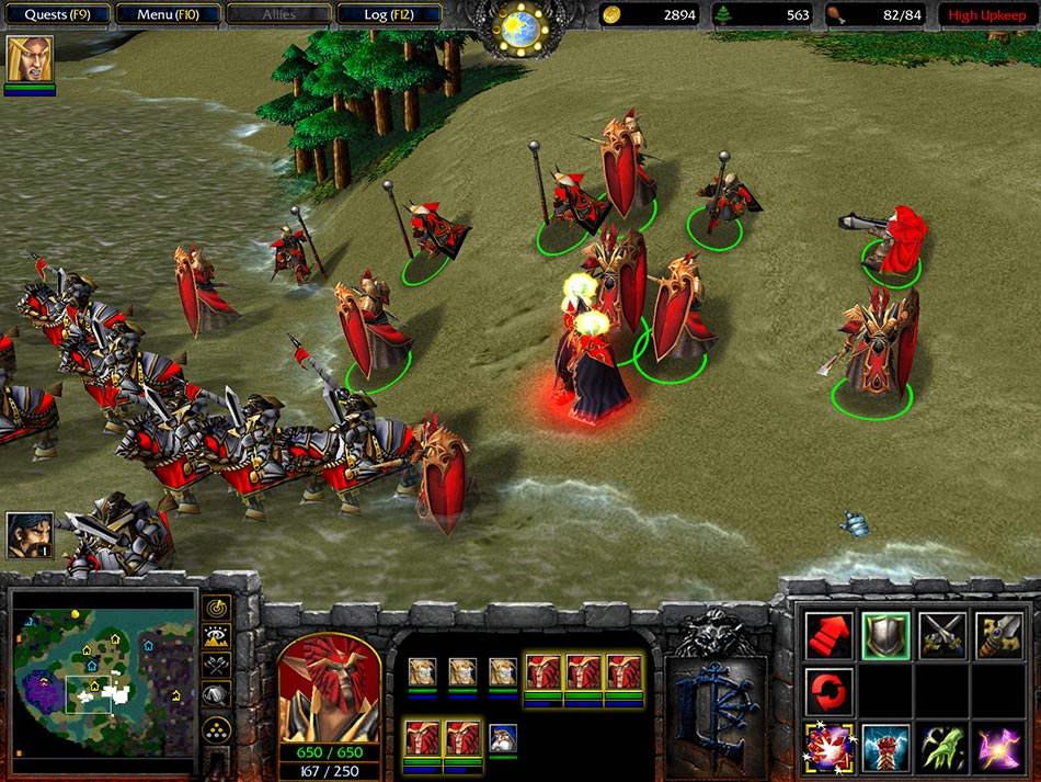 Warcraft 3 Cheats Who is your Daddy