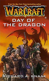 Warcraft book - Day of the Dragon