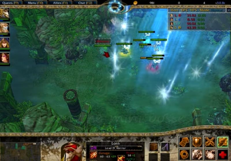 WC3 Map TKoK Features