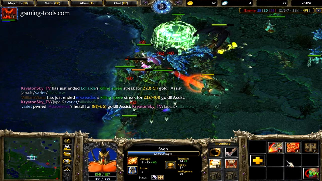 Dota 6.85k RGC New Items