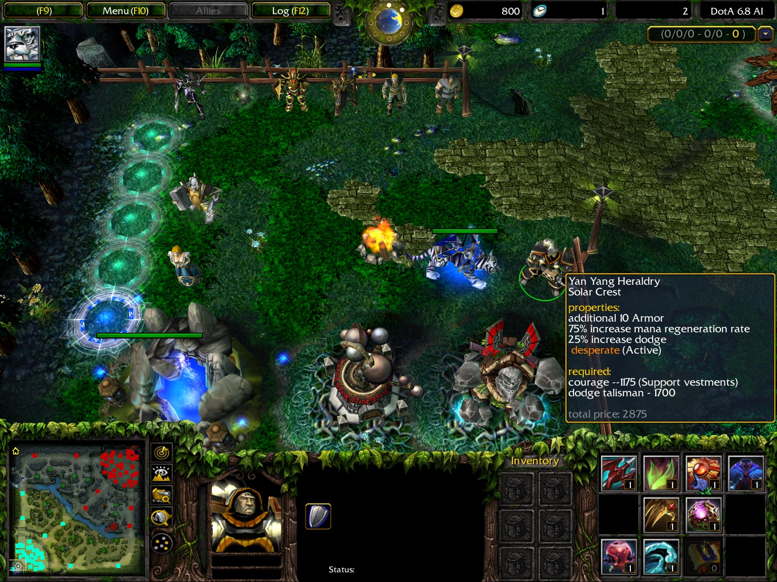Dota Allstars 6.88 Ai Screenshot