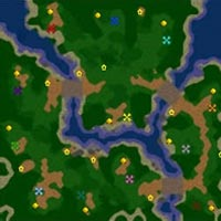 Warcraft 3 Map The Two Rivers