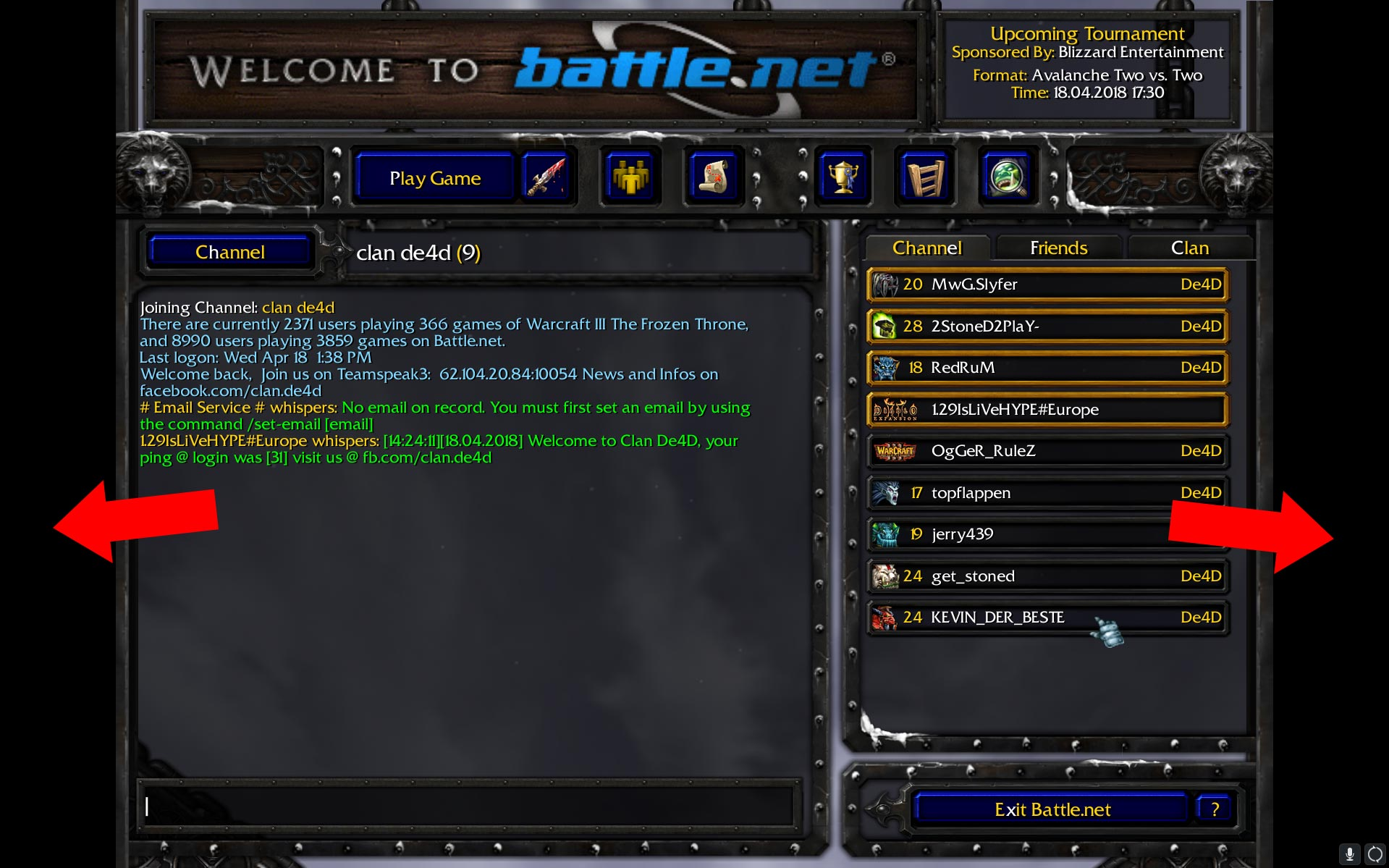 Warcraft 3 Black Bars Menu