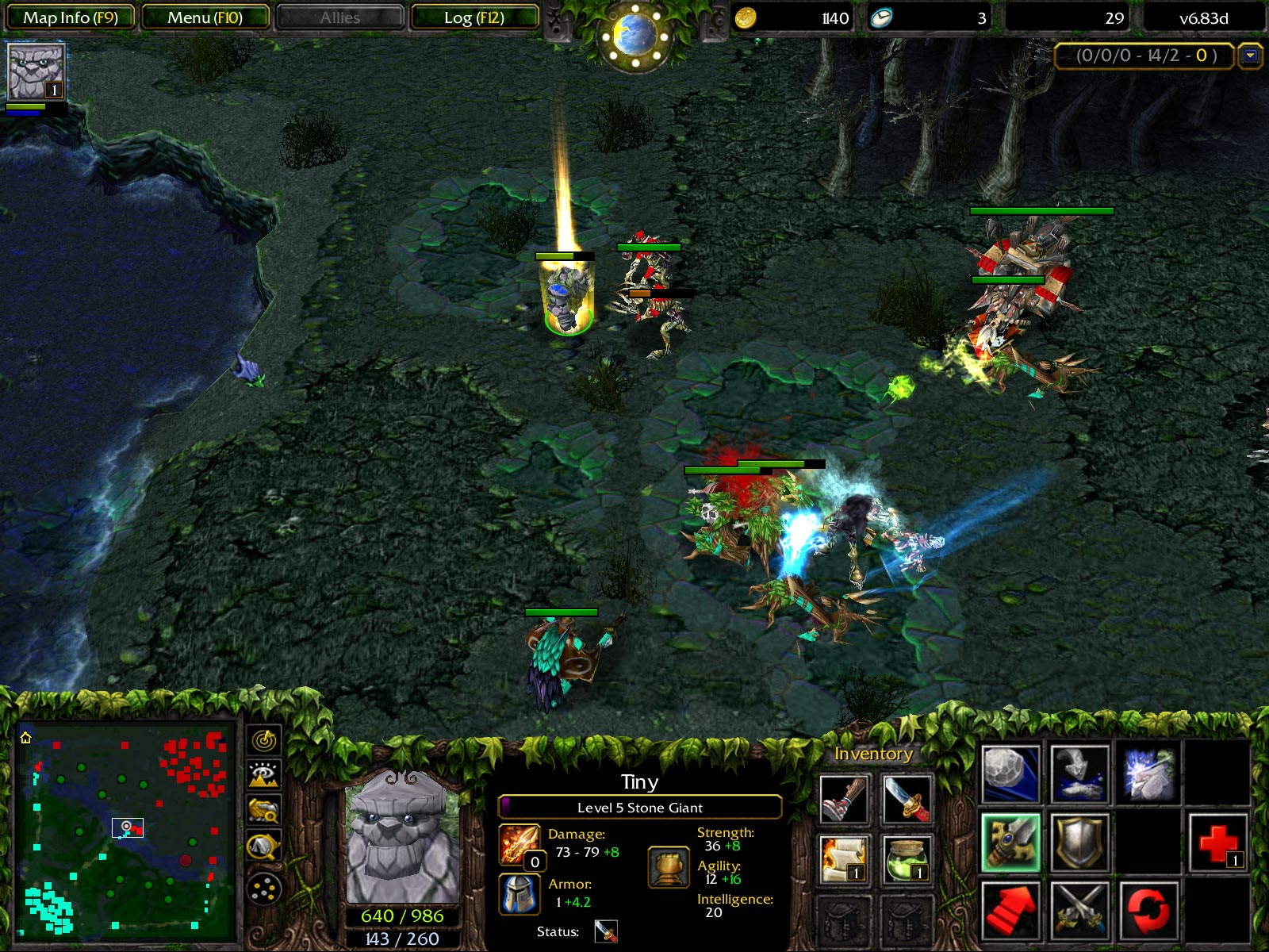 Screenshot Dota 6.83d fixed v2