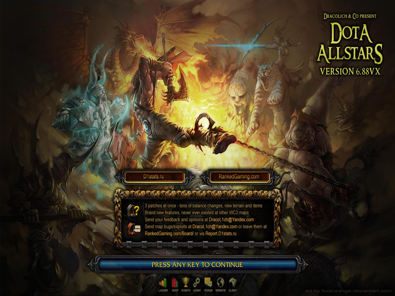 Loading Screen Dota 6.88vX RGC
