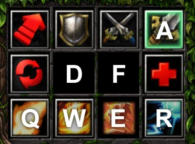 Dota Hero Customkeys QWER