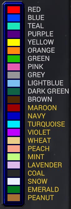 New Warcraft 3 Colors