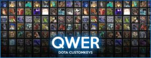 Dota QWER Customkeys