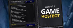 Warcraft 3 Game Hostbot