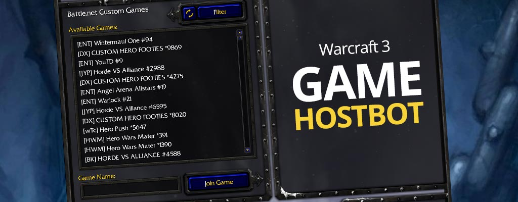 Warcraft 3 Game Hostbot Download