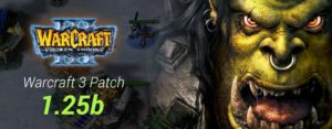 Warcraft 3 Patch 1.25b