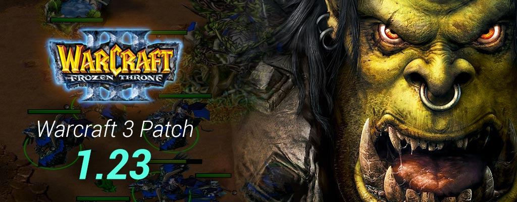 Warcraft 3 Patch 1.23