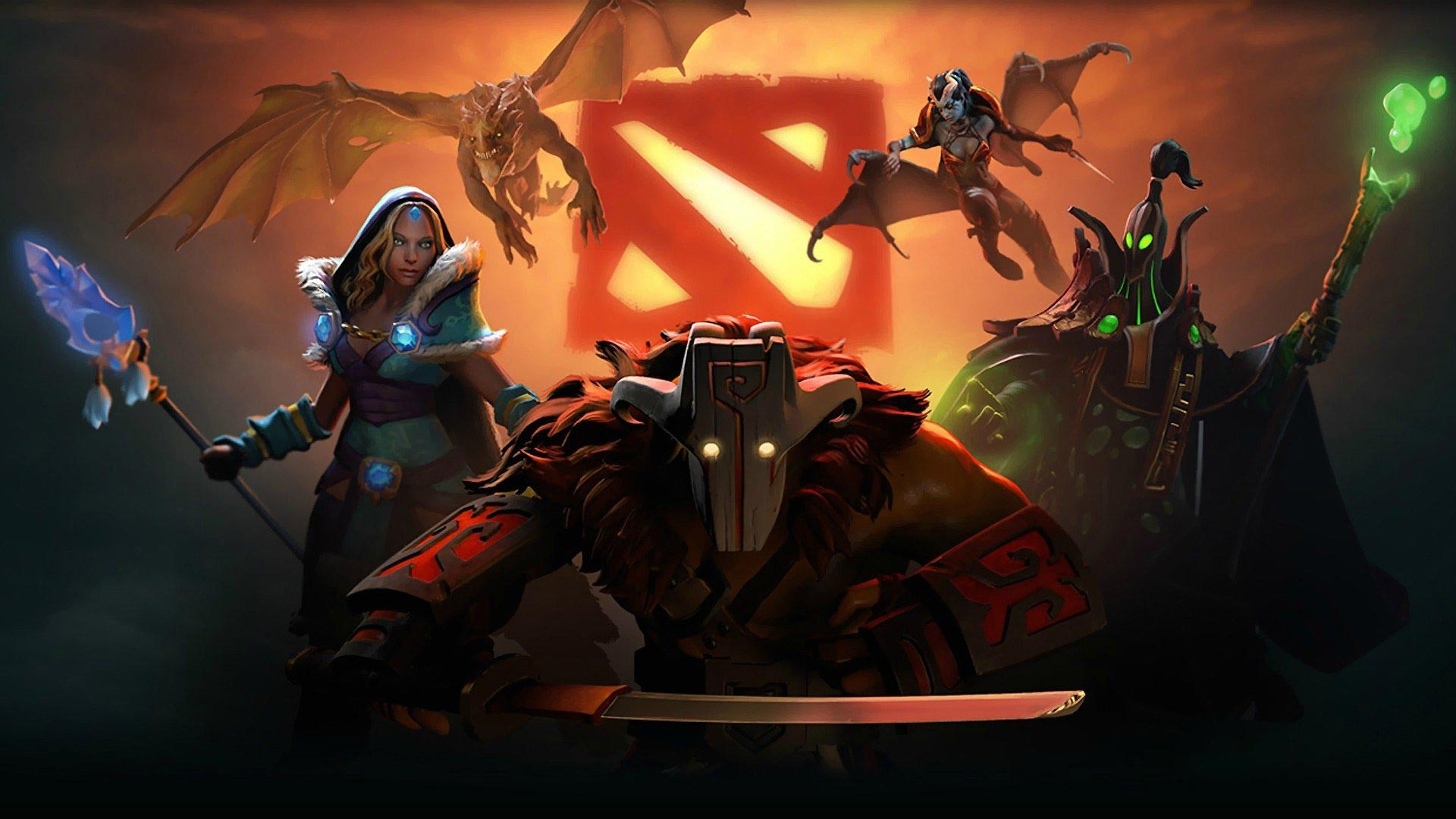 Wallpaper Dota Imba Legends