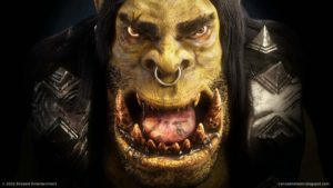 Real Orc Mask Warcraft Movie