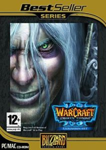 Warcraft 3 The Frozen Throne Expansion Game Box