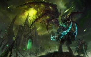 Warcraft 3 HD Wallpaper Illidan