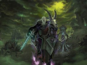 WC3 TFT Undead Dreathknight and Lich King
