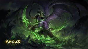 Warcraft 3 Epic Illidan Demon Hunter Wallpaper