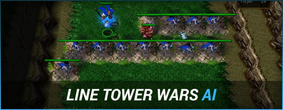 Line Tower Wars Ai