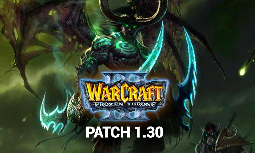 ▷ Warcraft 3 Patch 1.30 ++ Download Installer [Changelog & All Infos]